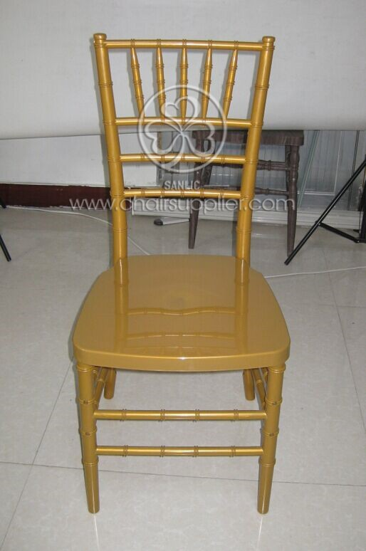 Resin chiavari Chair with Steel Tube 091