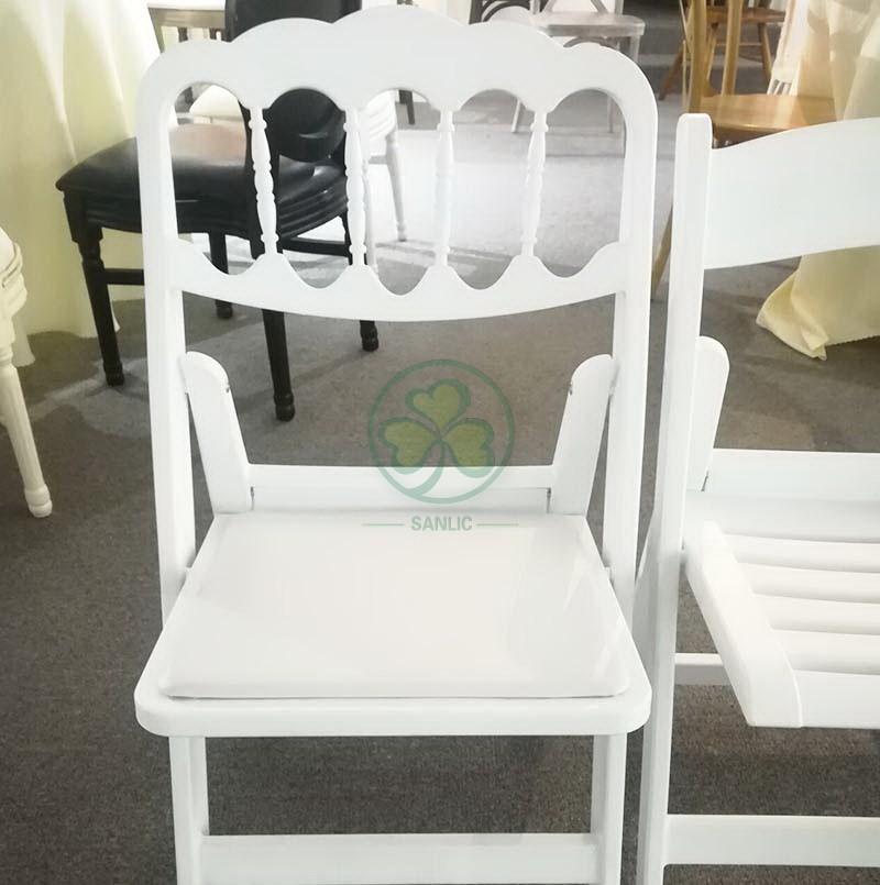 Resin Folding Chair Napoleon Style 024
