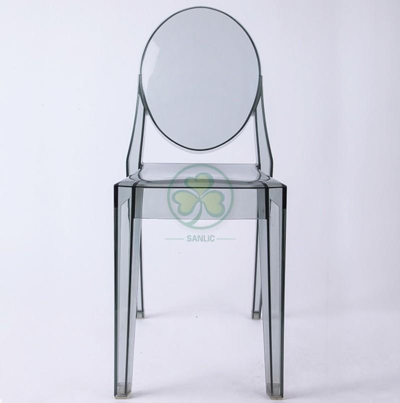 Victoria Ghost Armless Chair 042