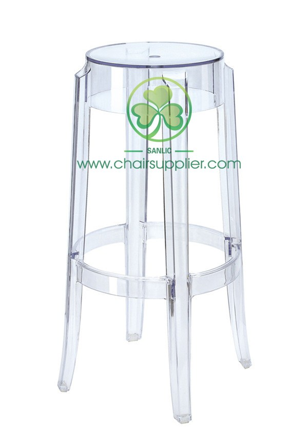Charles Ghost Stool L 006