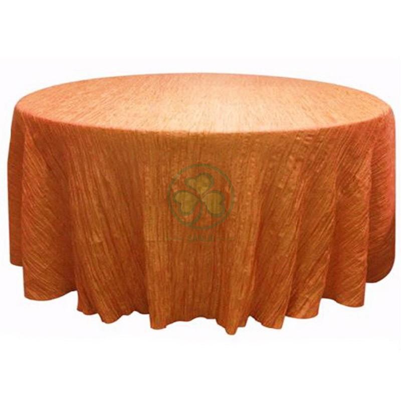 Crinkle Taffeta Table Cloth 013