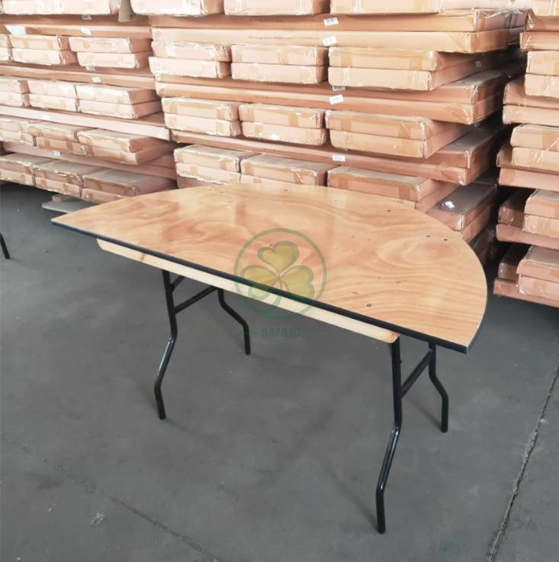 Half Round Folding Table 010