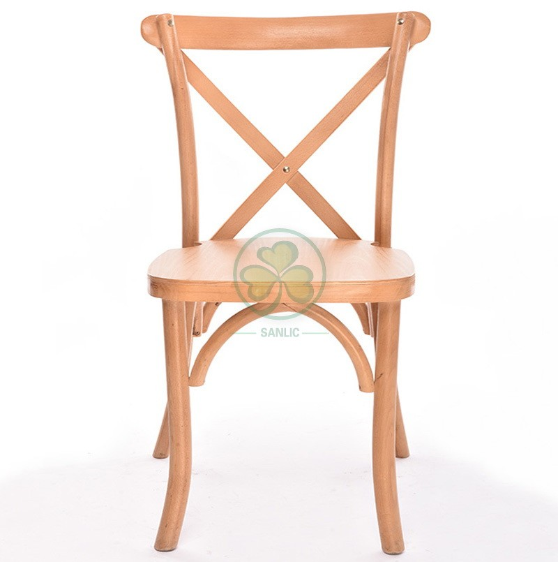 Wooden Cross Back Chair A 050
