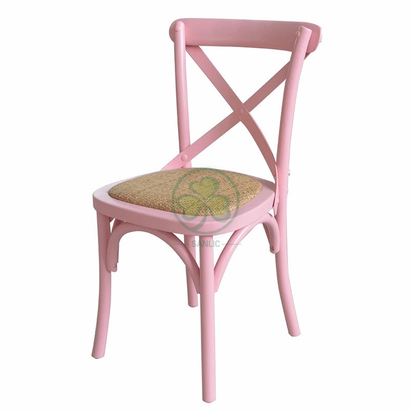 Wooden Crossback Chair for Children A 043