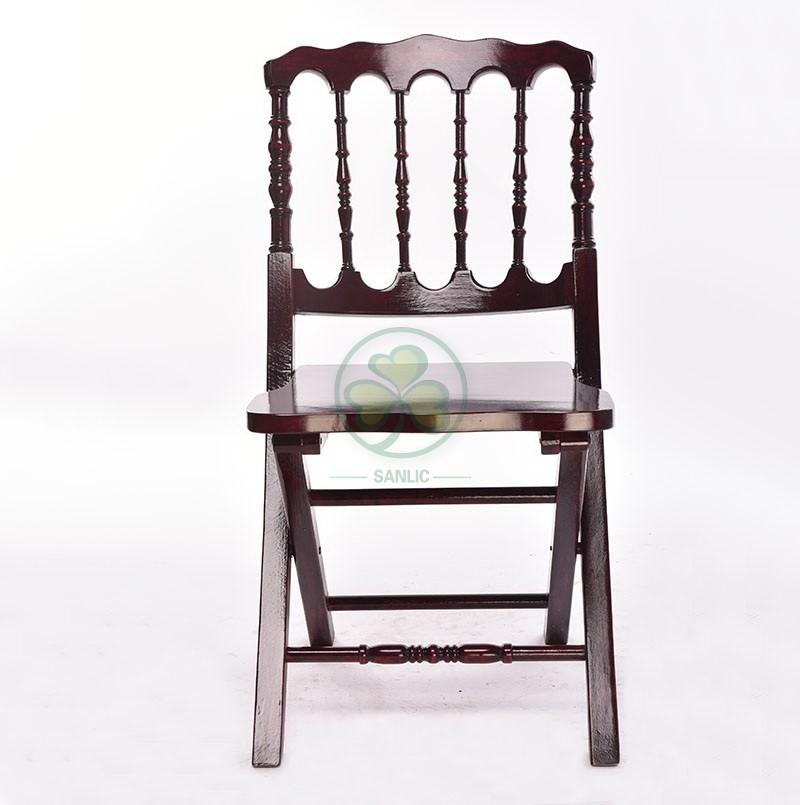 Wooden Folding Napoleon Chair 026