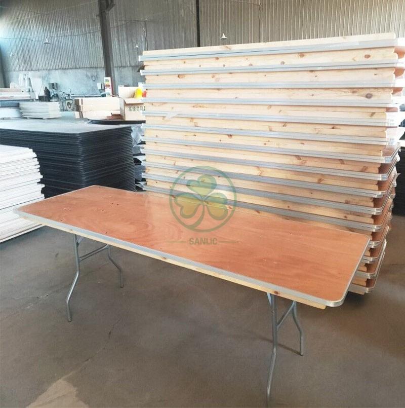 Rectangular Folding Table 035